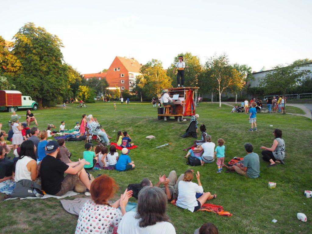 zirkusfest musik kreativgarten ev.